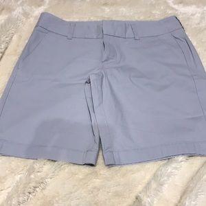 5/$25 J Crew Gray Frankie Bermuda Shorts Size 4